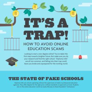 Avoiding Online Education Scams