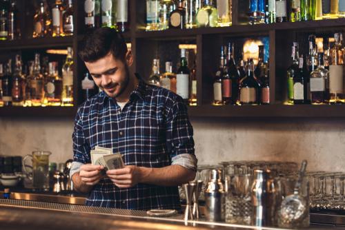 bartender salary