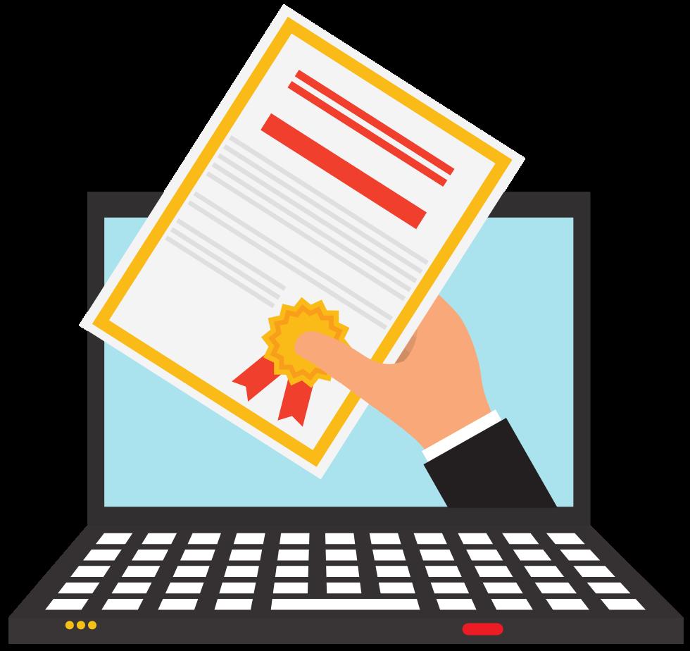 Easiest Online Certificate - Divider