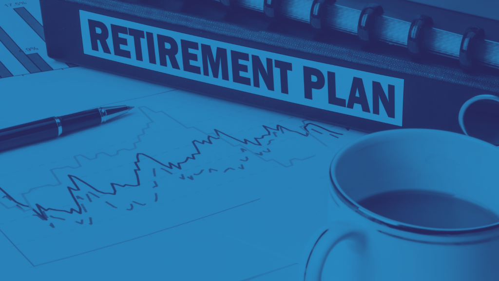 Retirement Plans concept - PS background image