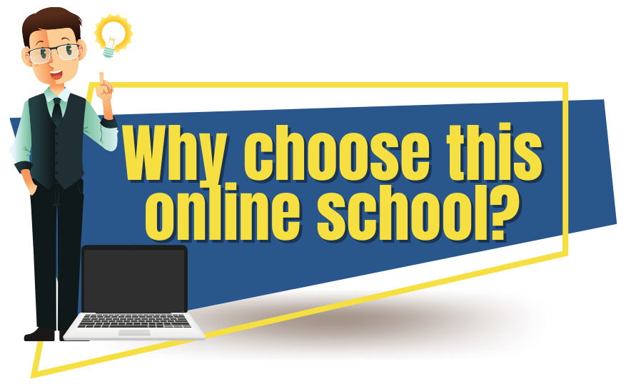 Why choose this online school_
