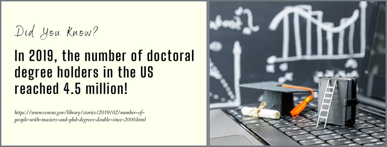 20 Easiest Doctorate Programs 2021 - fact 1