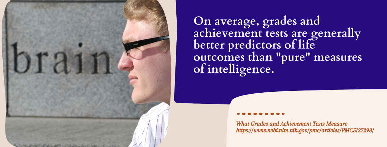 Why Intelligent College Students Fail - fact 2